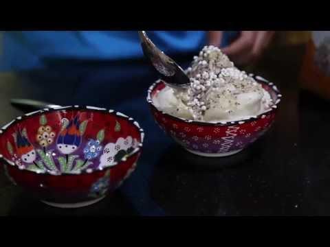 Raw Vegan Cardamom Ice Cream with Thermomix
