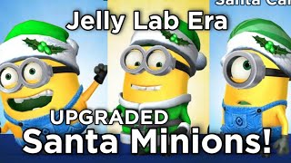 minion rush santa minions dave carl and jerry hats for christmas 2017 - Minion Rush Christmas