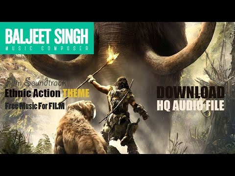 FREE  Background Music  |  Ethnic Action Theme  |  Baljeet Singh | Free Music for Commercial Use
