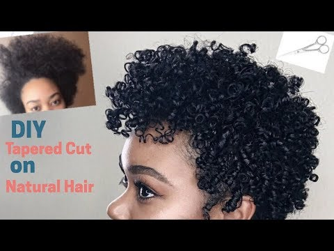 DIY Tapered Cut on Natural Hair