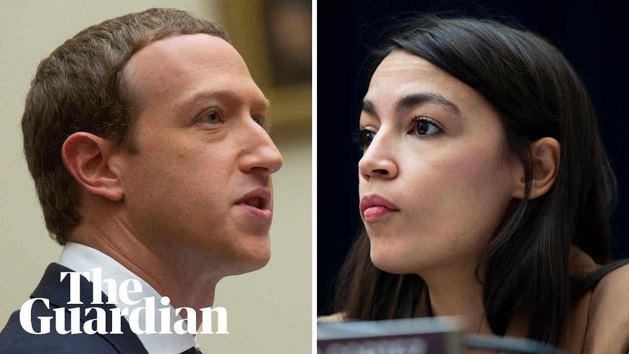 'So you won't take down lies?': Alexandria Ocasio-Cortez challenges Facebook CEO