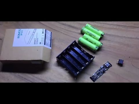 how to make a portable charger from laptop battery