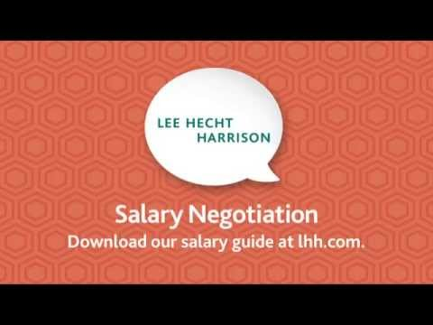Job Search Tips: Salary Negotiation