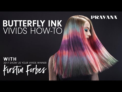 How-To | Butterfly Ink VIVIDS Hair Color Technique