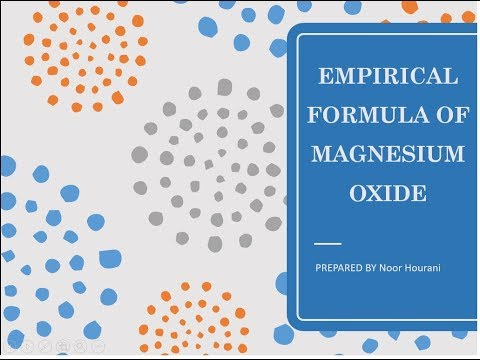 Empirical Formula of magnesuim oxid by Noor Hourani