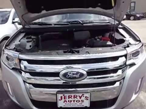 2013 Ford Edge SEL AWD Silver- Walkaround
