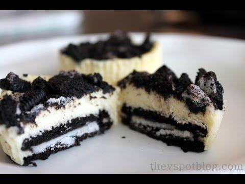 How to make Mini Oreo Cheesecakes