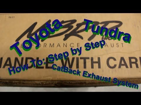How To: Toyota Tundra MBRP Dual Side Exit Exhaust System Install