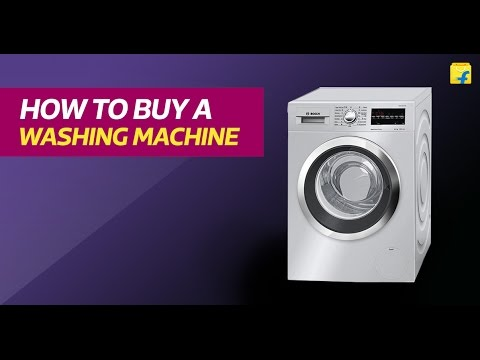Flipkart How to buy Washing Machines
