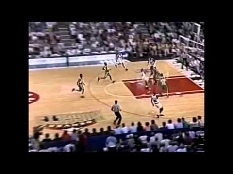 Robert Pack Dribbles Coast To Coast And Dunks On Shawn Kemp