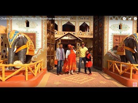 Chokhi Dhani tour | Panchkula | Rajasthan wanderlusting