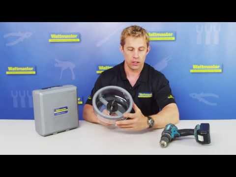 Downlight Cut - how to cut downlight holes - Wattmaster TV