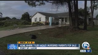Home Where Tyler Hadley Murdered Parents For Sale