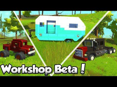 Creations WorkShop + Steam Group!  - Scrap Mechanic Workshop Beta Update Quicklook