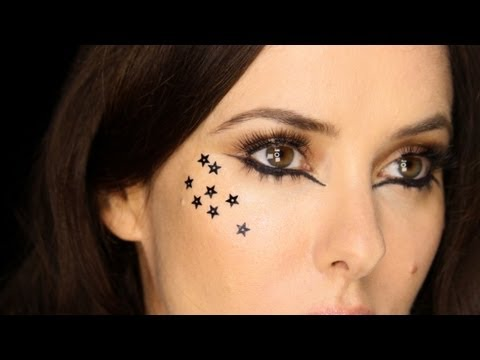 Black Stars & Eye Liner Dramatic / Editorial Tutorial