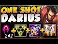 EVERYONES GETTING DUNKED DARK HARVEST 1v9 DARIUS BUILD IS 100 BUSTED League Of Legends Gameplay