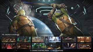 Injustice 2 - All Character Select Animations (All DLC)