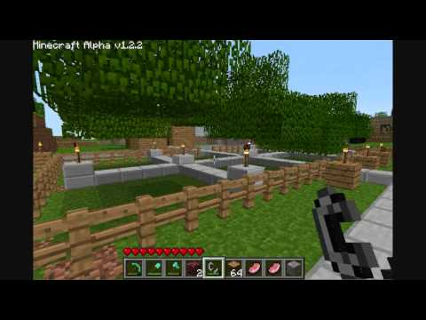 MineCraft Tips & Tricks : How to get rid of leaves (fast way).