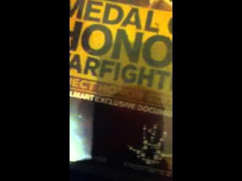 Medal of Honor warfighter unboxing(unwrapping)