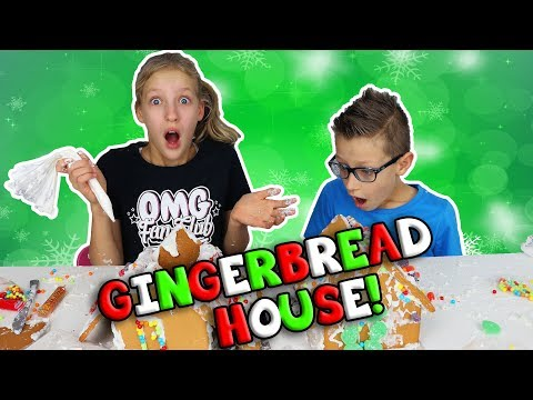 GINGERBREAD HOUSE FAIL!!!