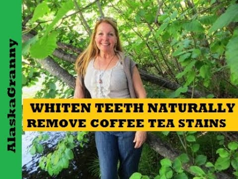 Whiten Teeth, Remove Coffee and Tea Stains with Baking Soda