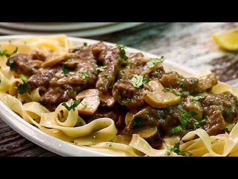 Beef Stroganoff - Easy Beef Stroganoff Recipe - Sooperchef