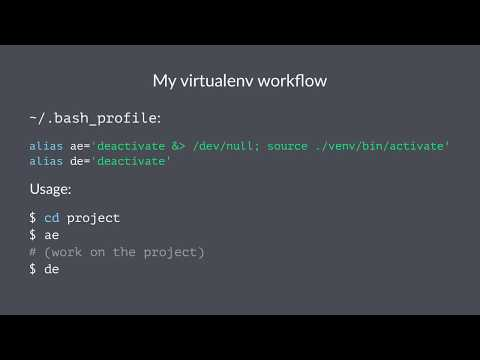 Working Effectively with Python Virtual Environments (Virtualenv)