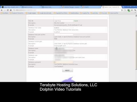 Dolphin 7.0.8 Installation Video Tutorial Part 2
