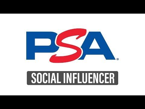 Become a PSA Social Influencer