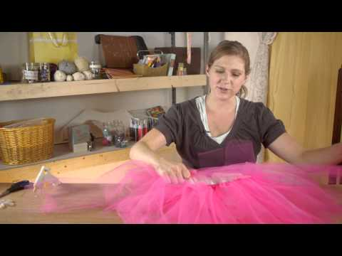No-Sew Tutu Dress Instructions : Tutus, Ribbons & Other Crafts