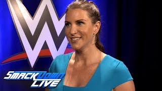 Stephanie McMahon reacts to the history-making Women
