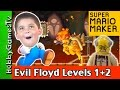 EVIL HobbyGuy Bounce It Up NEW Mario Maker Levels HobbyPig Plays With Lego Floyd HobbyGamesTV