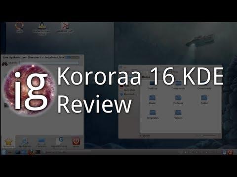 Kororaa 16 KDE Review - Linux Distro Reviews
