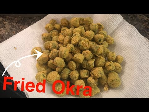 How to Make: Fried Okra