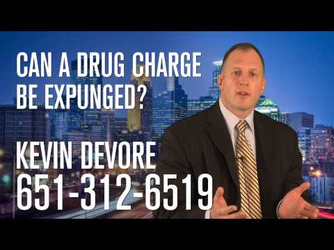 Can a drug charge be expunged?