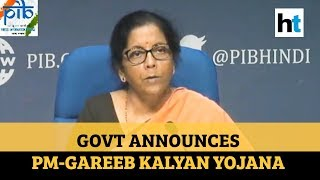 Coronavirus | Rs 1.7 lakh crore relief package: Govt's 8 big announcements