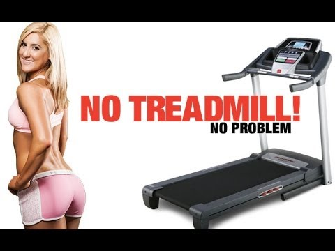NO Treadmill Workout -- BURN MORE CALORIES In Less Time!!