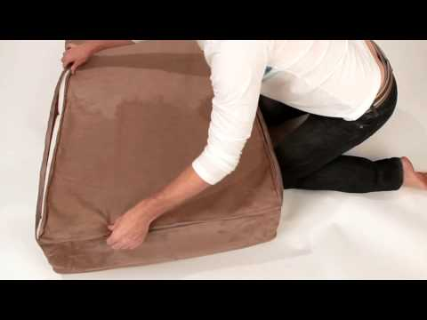 How To Remove The Cover Of a Big Barker Dog Bed
