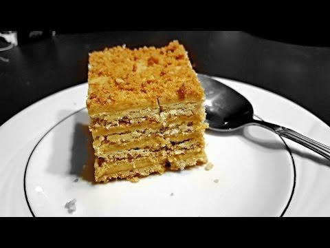 CRUNCHY 4  LAYER CARAMEL CAKE - ПЕСОЧНЫЙ ТОРТ