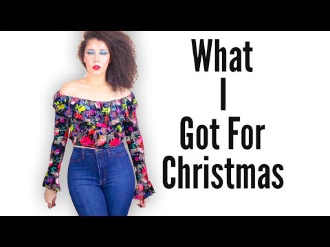 What I Got For Christmas 2017   How To Shop For A YouTuber   #whatigotforchristmas