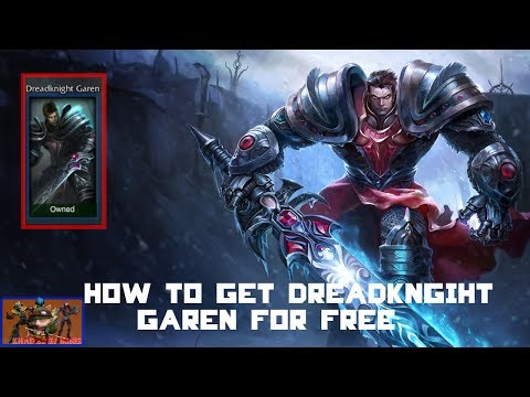 League of Legends - How to get Garen Skin for Free