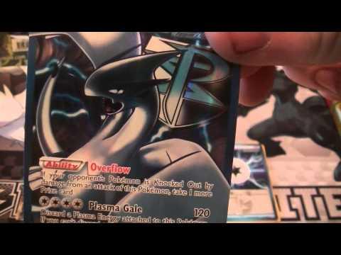 Unboxing Pokemon White Kyurem EX 2013 Tin (Lugia!!!)