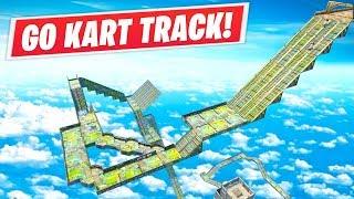 Fortnite // Shopping Cart Race Track!