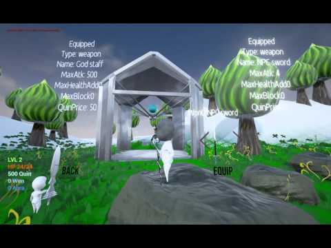 RPG project Update 1 (Unreal Engine 4)