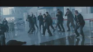Expandables 2   Arnold, Bruce and Chuck Norris scenes