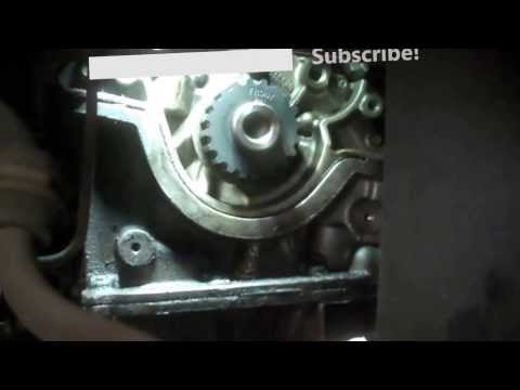 Timing belt replacement Ford Focus 2002 2.0L Vin 3 DOHC PART 2 2000-2004 Install Remove Replace