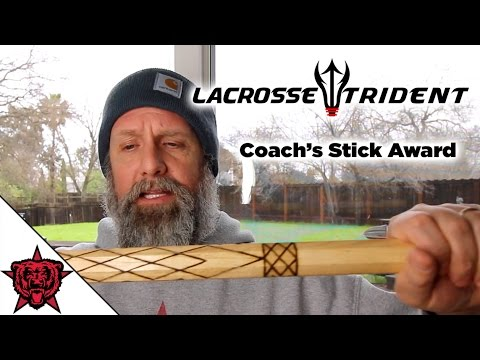 Lacrosse Trident: Coach's Stick Award