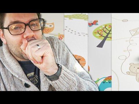Choosing Gender Neutral Wallpaper for the Baby's Room / Nursery | #TOD VLOG