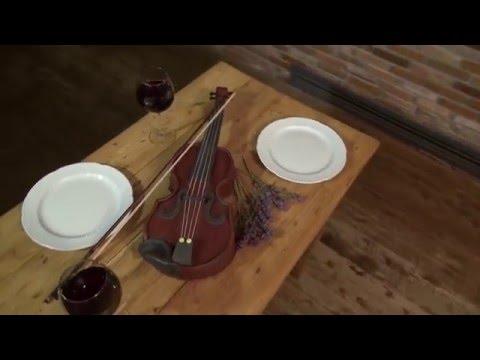 Realistic Violin Cake