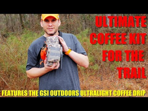 Ultimate Coffee Kit for the Trail - Featuring the GSI Ultralight Java Drip